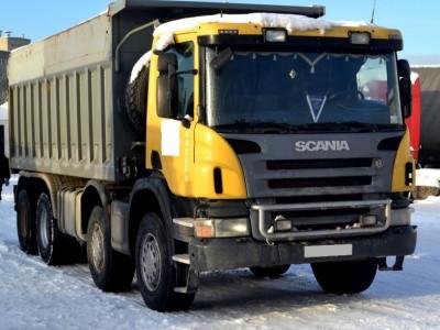 Самосвал Scania P8X400